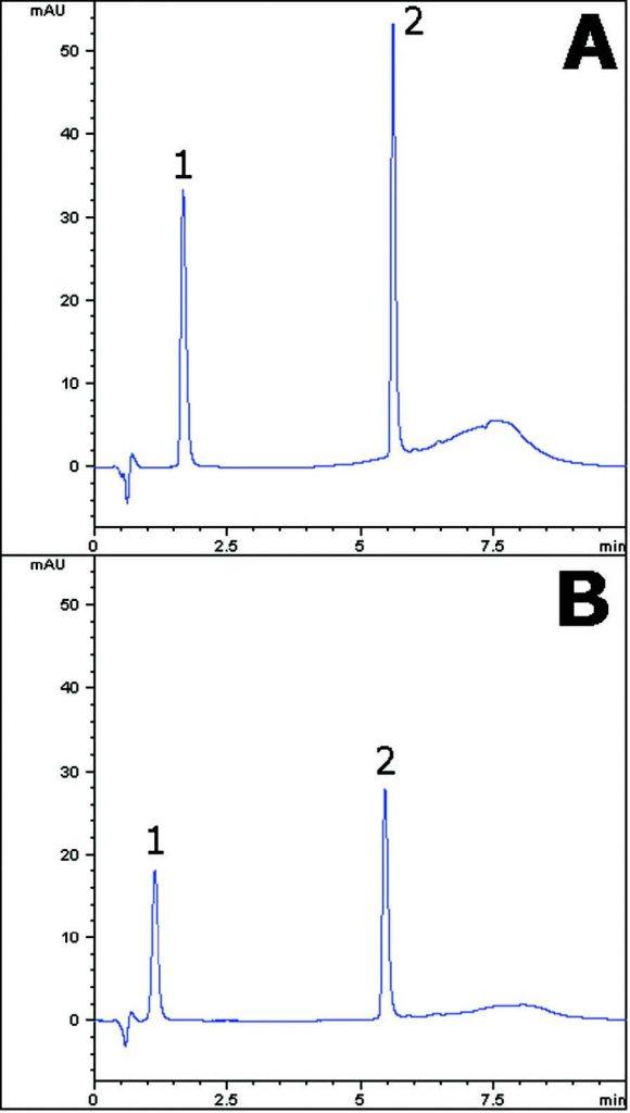 Atorvastatin Chromatogram