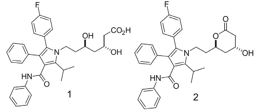 Atorvastatin Chemical Structures