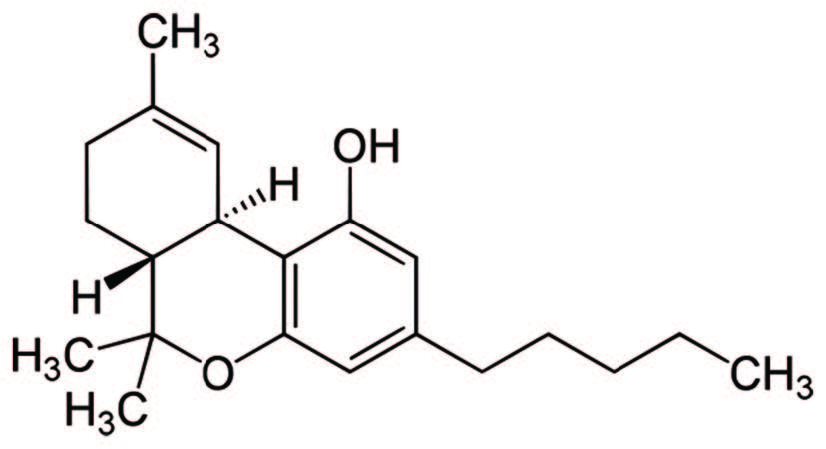 Cannabis Chemical Structure